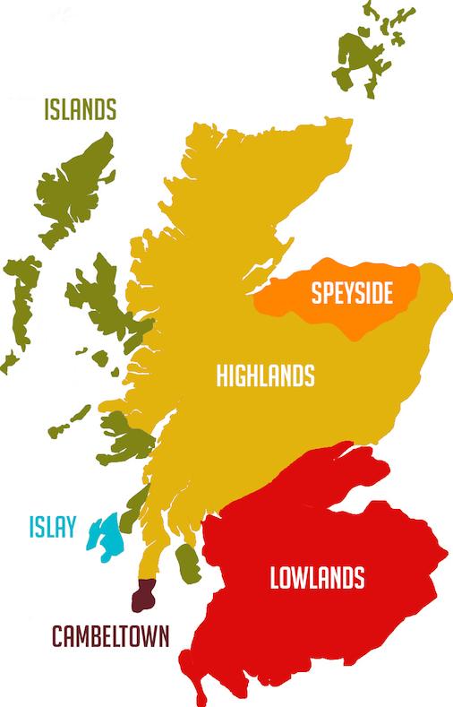 whisky-region-maps